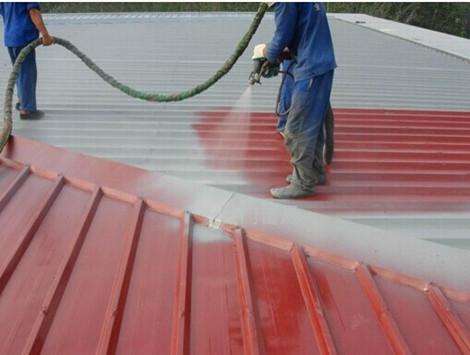 屋面聚脲防腐防水喷涂案例